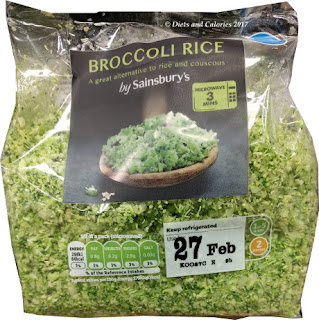 Sainsbury's Broccoli rice