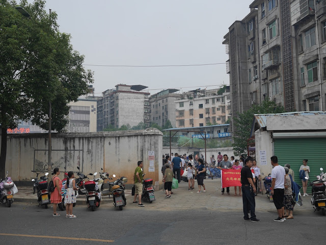 city government approved site for burning offerings during the Hungry Ghost Festival in Ganzhou