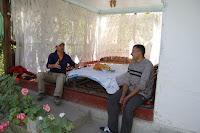Kyrgyzstan, Arslanbob, Salahiddin, topchan, © L. Gigout, 2012