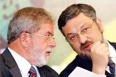Resultado de imagem para Palocci e Lula