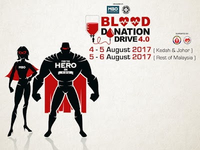 MBO Blood Donationation Drive 4.0: Be a SuperHero & Donate Your Blood at MBO Cinemas