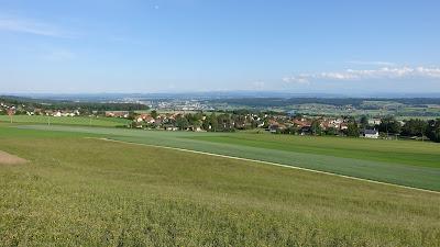 Lommiswil, im Hintergrund Solothurn