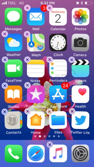 Delete PWA App iOS