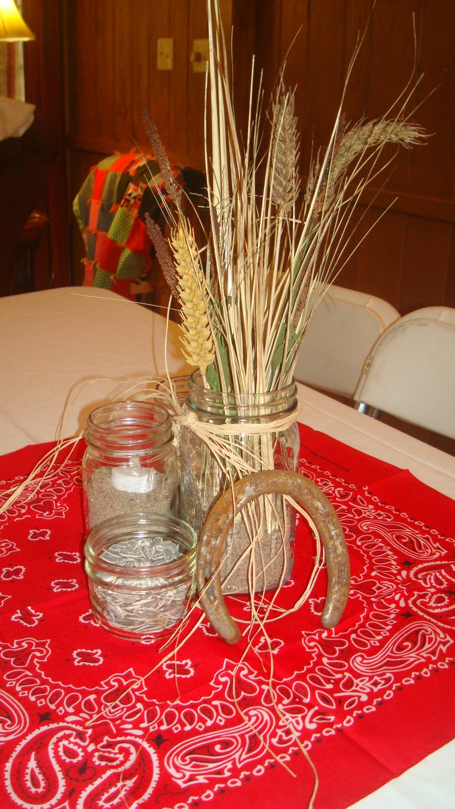 Red Bridal Shower Decorations
