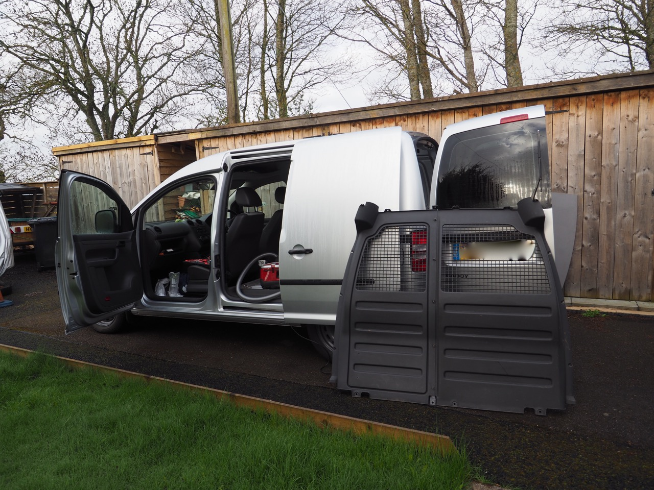 57 Degrees North: VW caddy van conversion