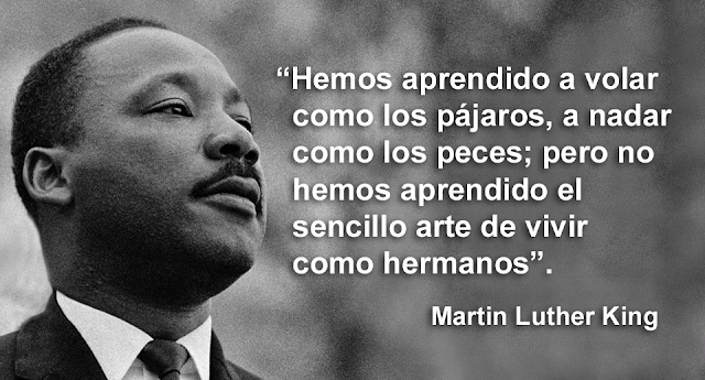 Las 15 mejores frases de Martin Luther King