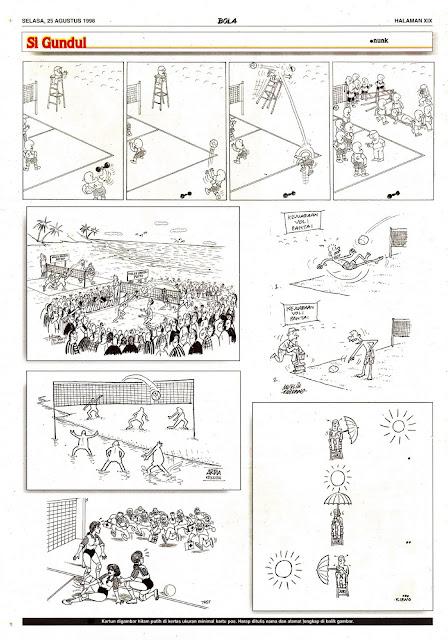 Si Gundul EDISI NO. 828 / SELASA, 25 AGUSTUS 1998