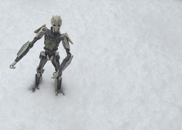 General Grevious in the snow - a photo by F. Lennox Campello