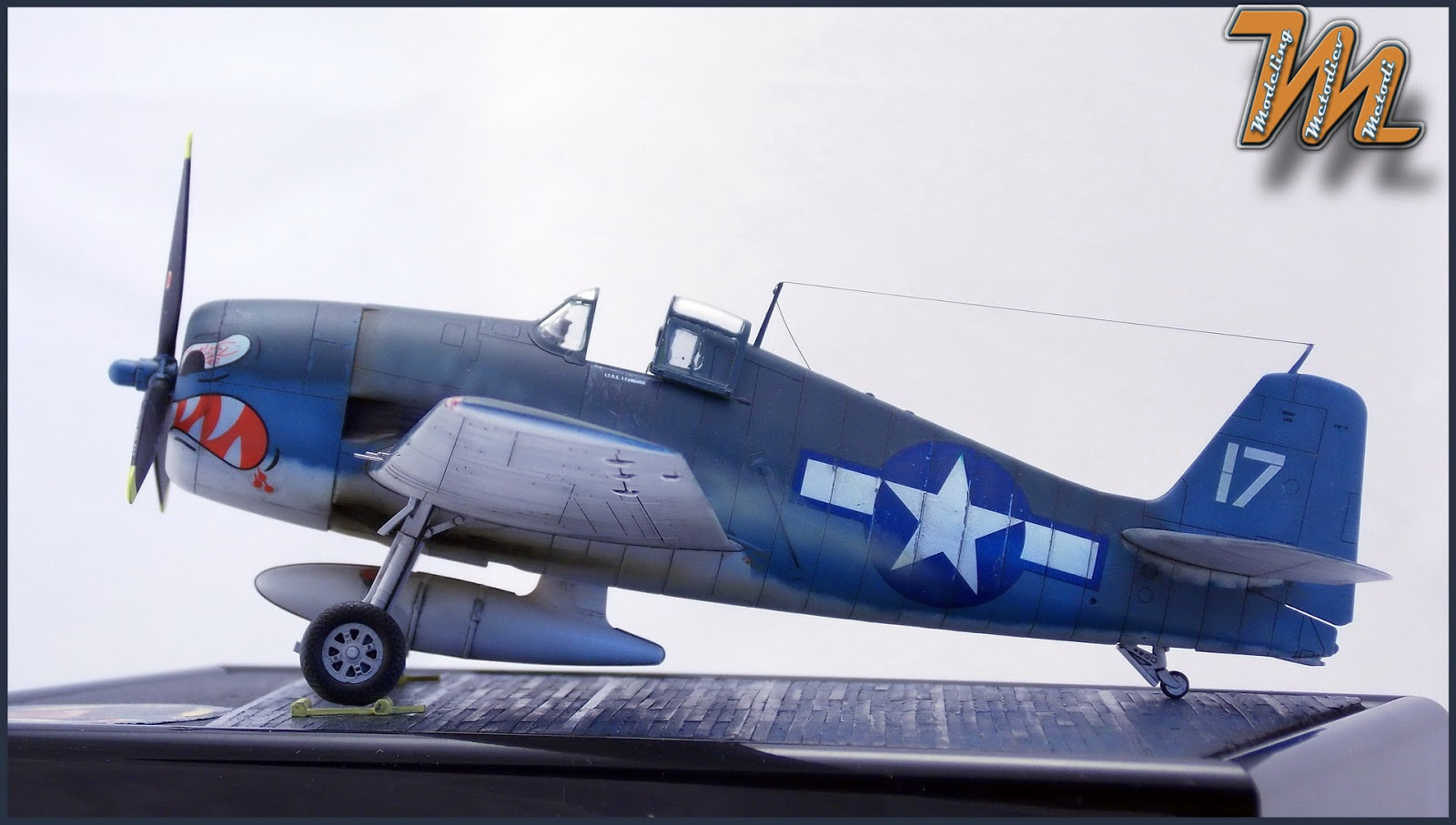 F6F, Hellcat, VF-27, scale model