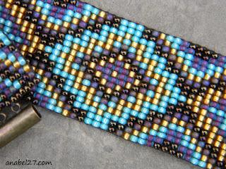 купить браслет на руку женский бижутерия из бисера в этническом стиле