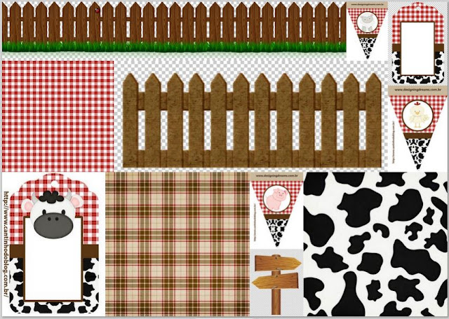 Baby Farm: Images, Frames and Free Party Printables.