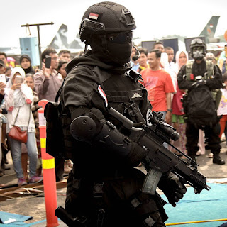 Operator Sat Bravo 90 Indonesian Special Forces
