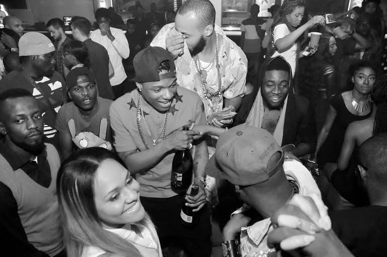 01 Photos: 2face, Wizkid, Sasha attend PREs 25th birthday party