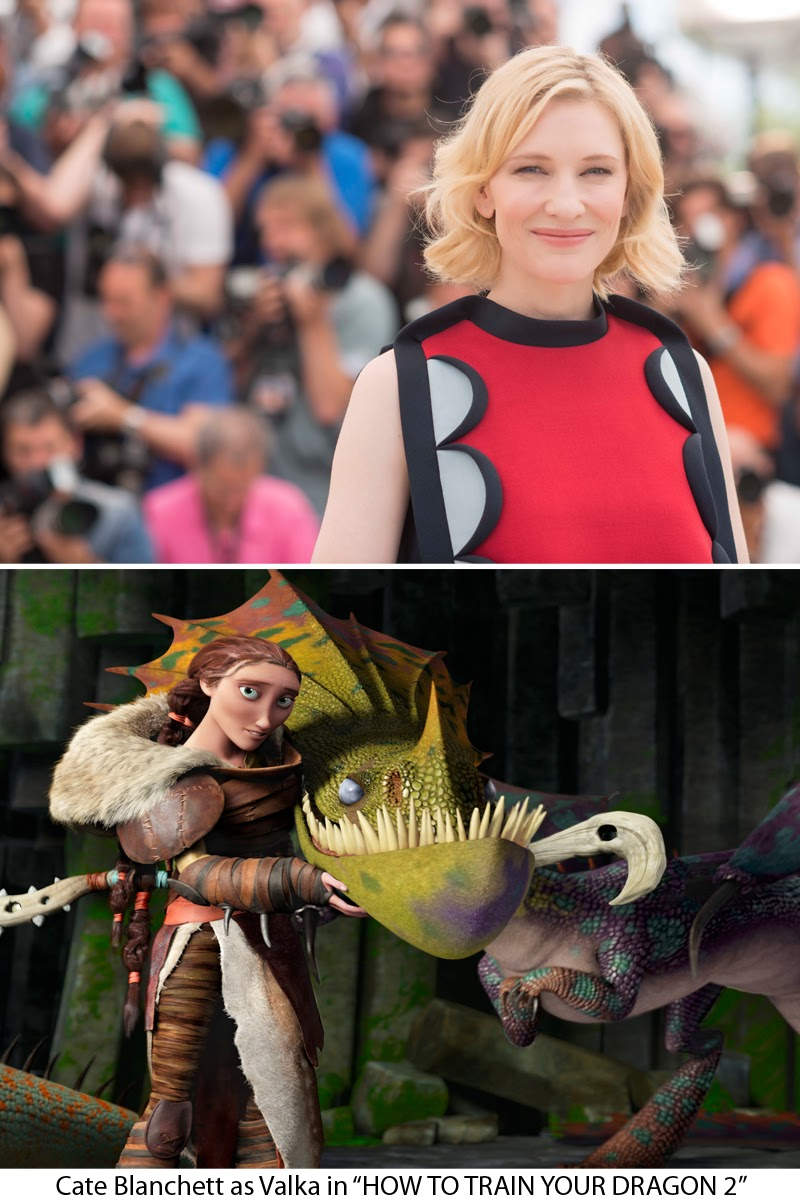 Cate Blanchett in How To Train Your Dragon 2