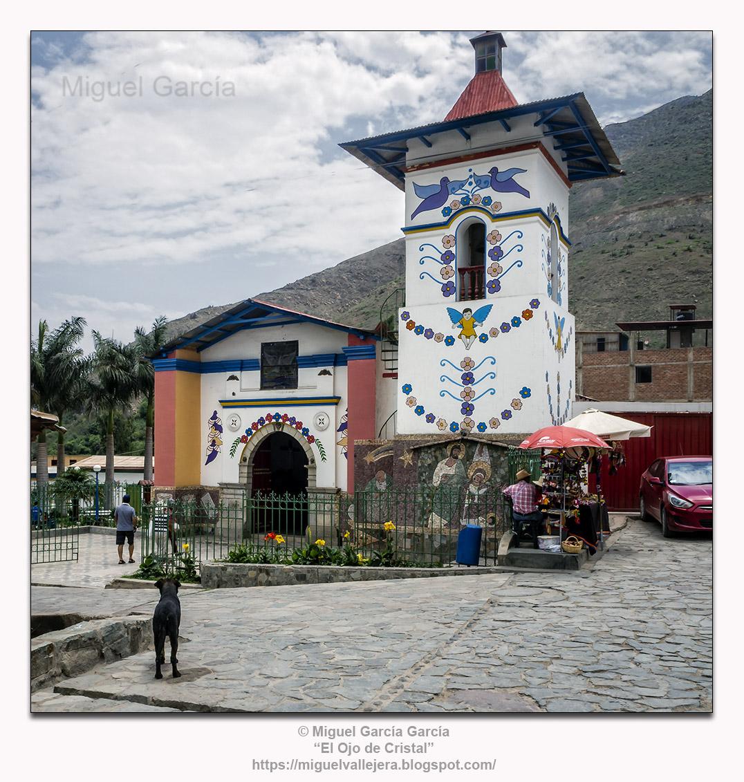 Antioquía, Huarochirí (Perú). Iglesia del Espíritu Santo