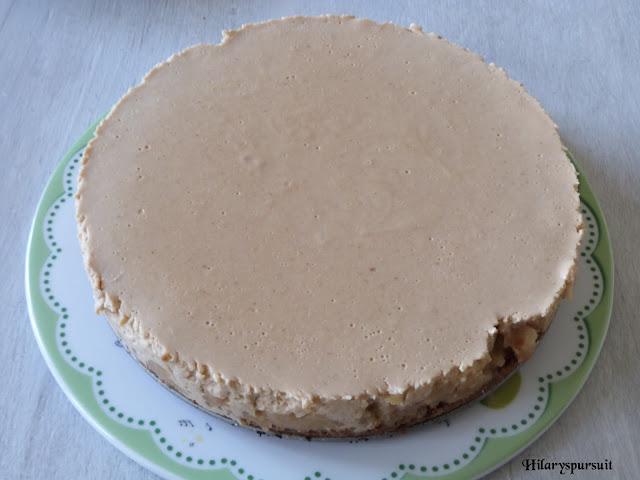 Gâteau aux spéculoos et pommes