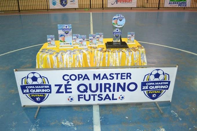 Equipe de Lajes é a campeã da 1ª Copa Master Zé Quirino de Futsal