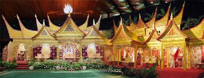 Sewa Pelaminan Palembang Padang Murah