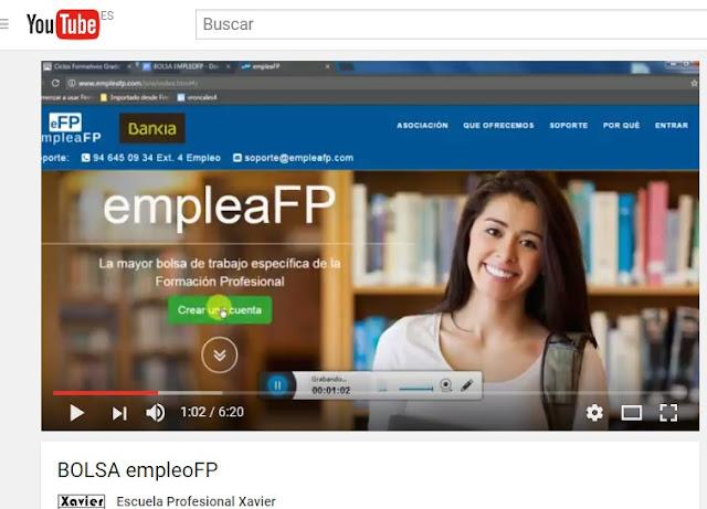 empleaFP bolsa trabajo formación profesional Valencia
