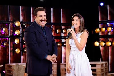 Ratinho e Patricia Abravanel - Crédito: Gabriel Cardoso/SBT