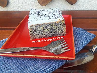 Haşhaşlı revani tatlısı nasıl yapılır şerbetli kolay nefis videolu tatlı yemek tarifler