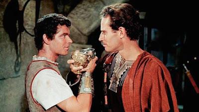 Mesala pide a Ben-hur que traicione a sus hermanos