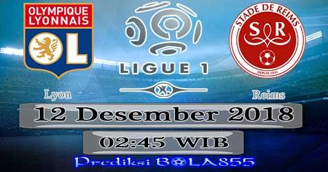 Prediksi Bola855 Lyon vs Reims 12 Januari 2019