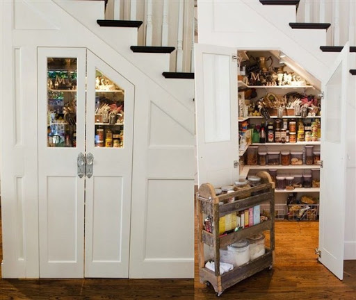 narrow pantry cabinet