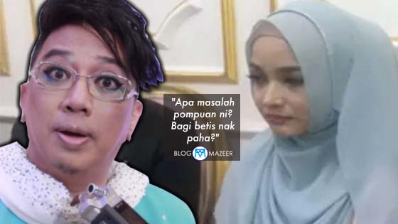 """""""Bagi betis nak paha?"""" - Diva Azwan Ali Bengang Dengan Joy Revfa"""