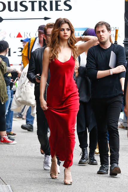 Actress, Singer, @ Selena Gomez Out in New York City