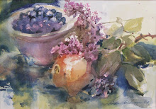 Blueberries and Lilacs