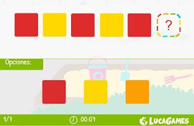 http://www.lucagames.com/logica/continua-la-serie-los-colores