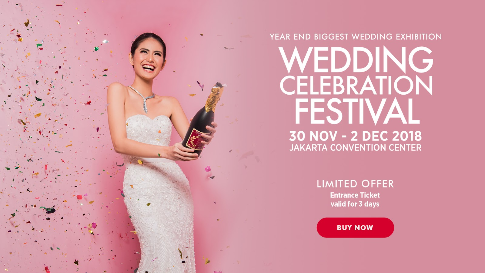 Mug-App di Wedding Celebration Festival 30 Nov - 02 Des 2018