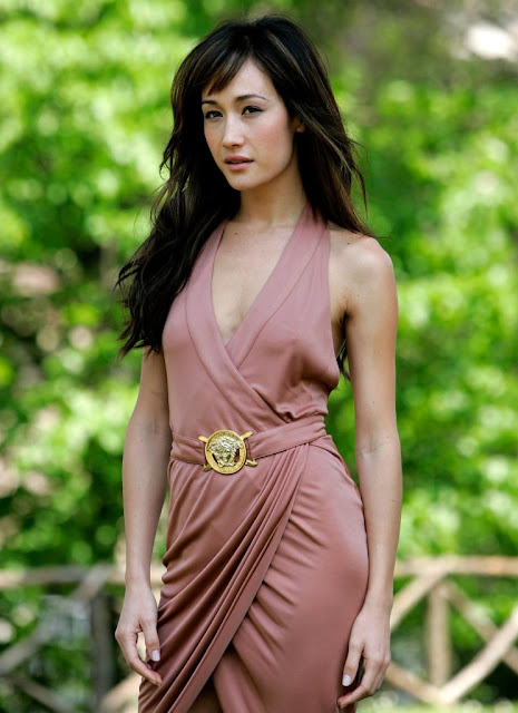 Maggie Q Sexy and Beautiful Actress Vietnam