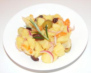 retete salata orientala de cartofi, retete de post, mancaruri de post, retete de mancare, mancaruri cu legume, salata de legume fierte,