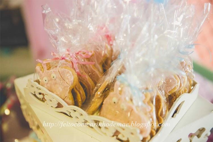 receita de biscoito decorado amanteigado da Peppa