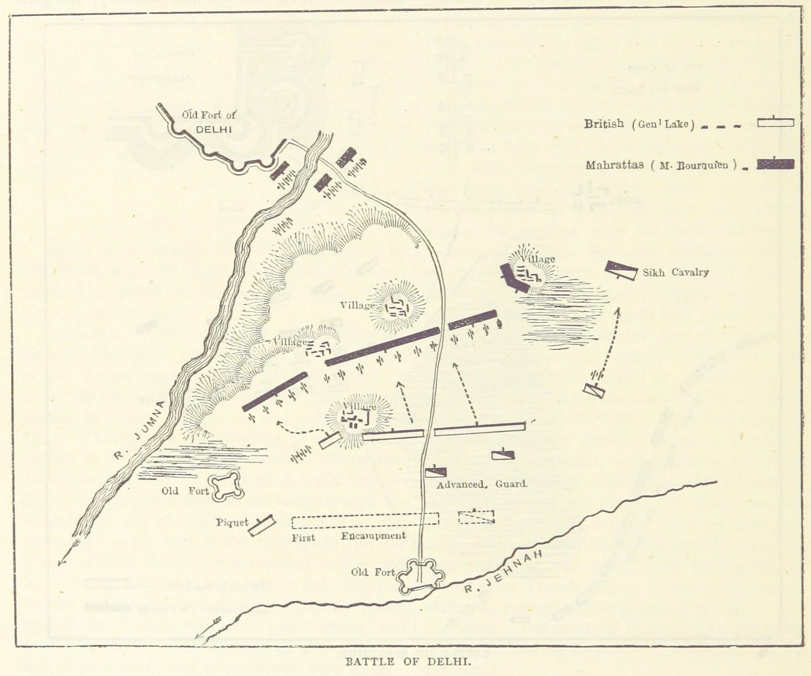 1803, पटपड़गंज की लड़ाई