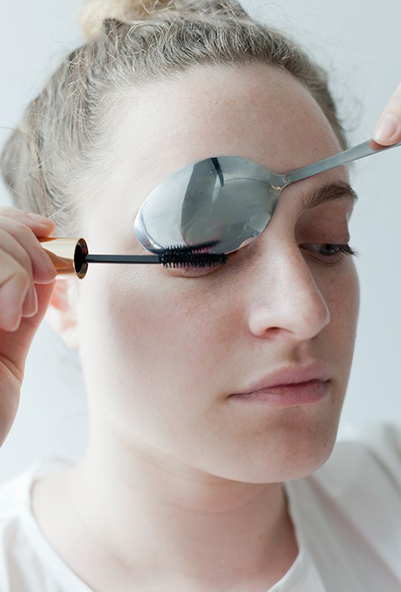 6 Beauty Hacks, All Done With a Spoon
