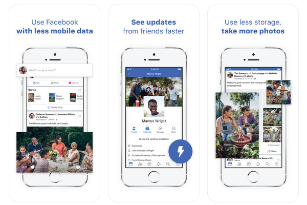 Facebook Lite app for iOS is here