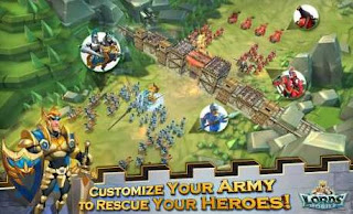 Download Lords Mobile Apk Mod v1.71 Data for android