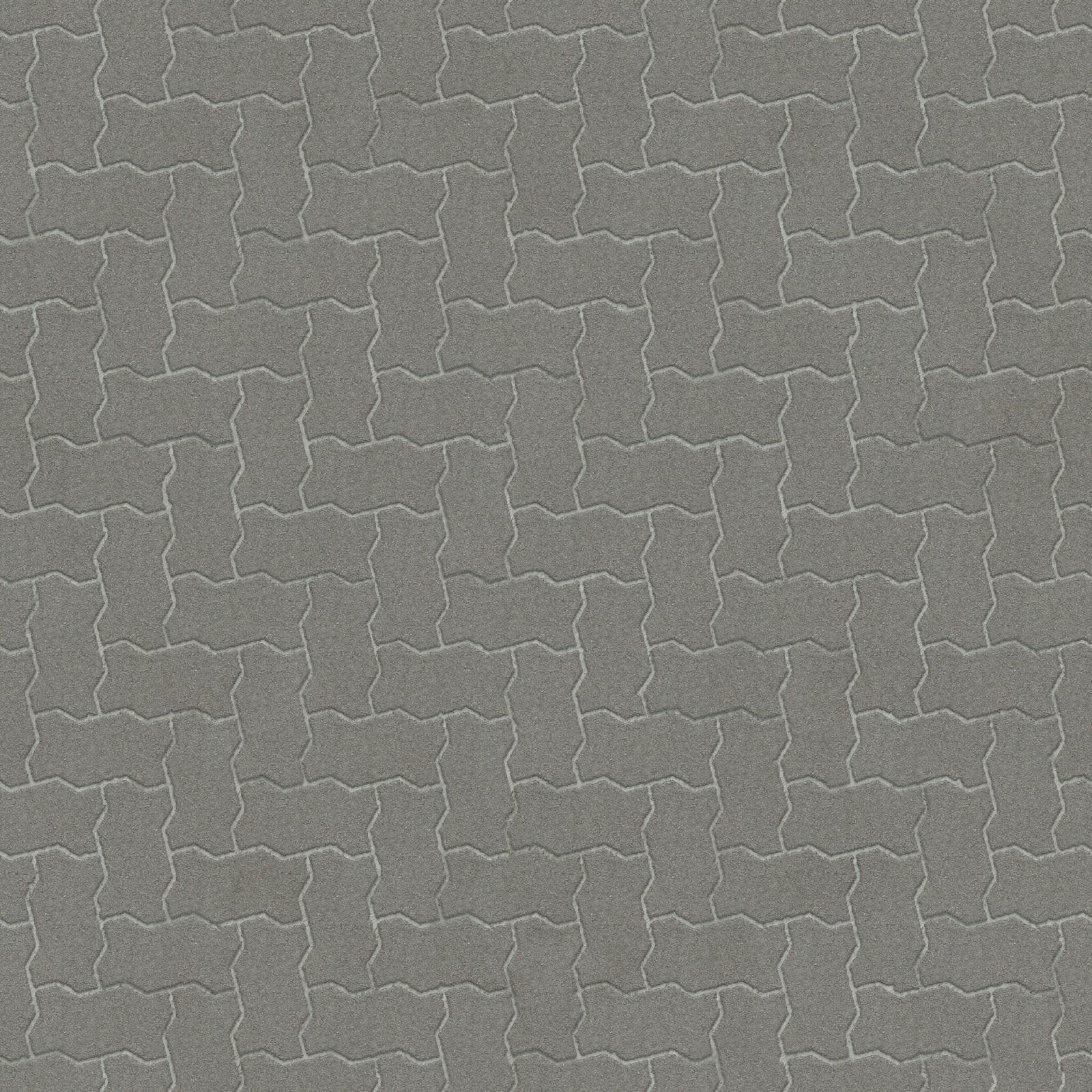 High Resolution Seamless Textures Brick Pavement Clean