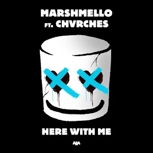 Marshmello - Here With Me (feat. CHVRCHES) - Single Cover