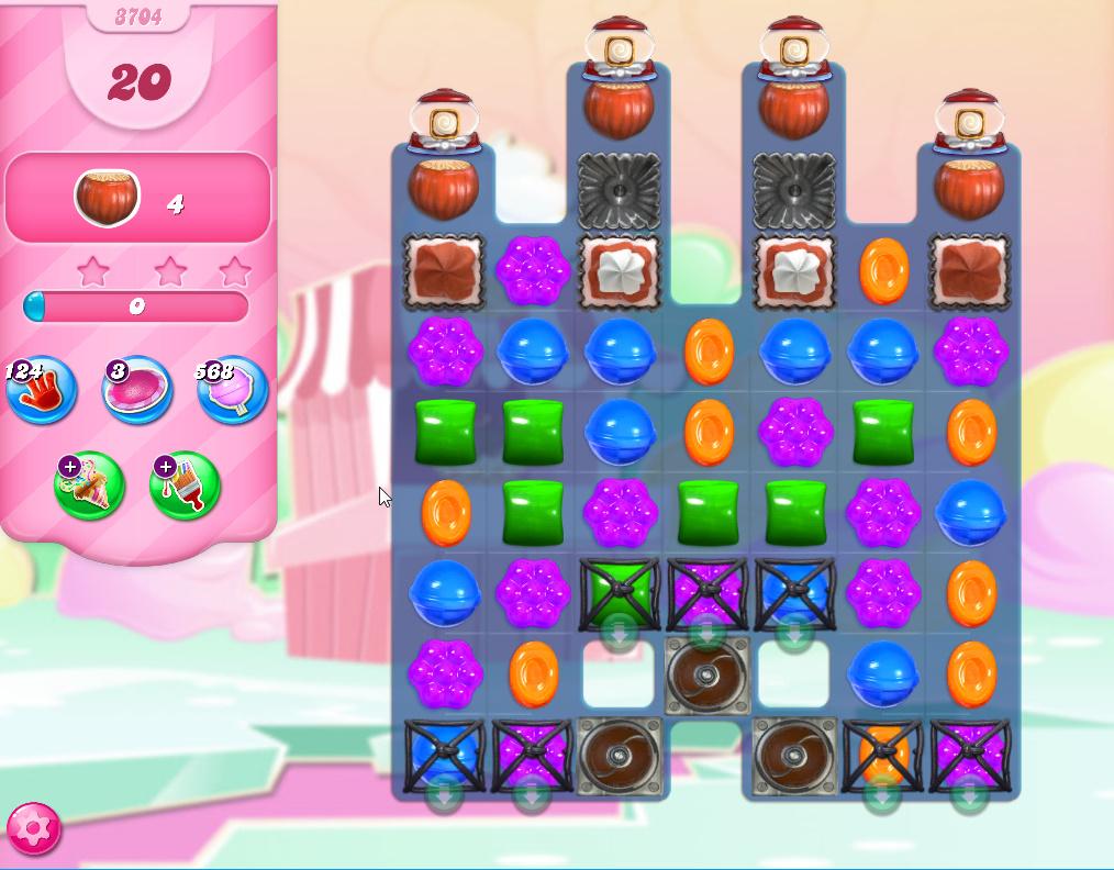 Candy Crush Saga level 3704