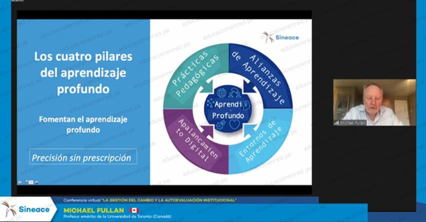 SINEACE: Seis lecciones de Michael Fullan para gestionar el cambio en las escuelas - www.sineace.gob.pe
