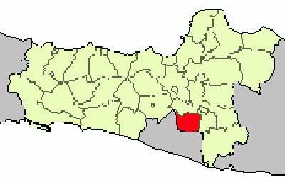 Gambar Peta Lokasi Kabupaten Klaten