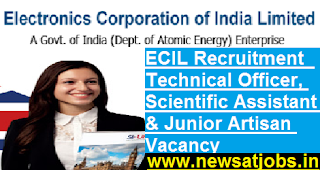 ECIL-Recruitment-10-technical-Officer-Scientific-Assistant-junior-Artisan-Vacancy