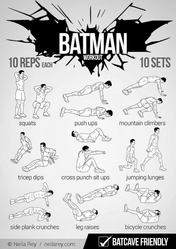 Batman Workout warghhh