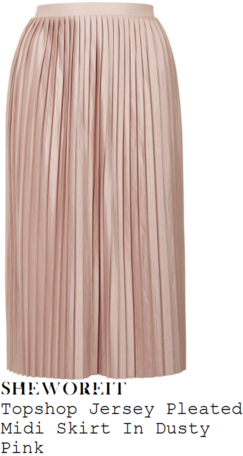 vicky-pattison-topshop-dusty-rose-pink-pleated-jersey-midi-skirt