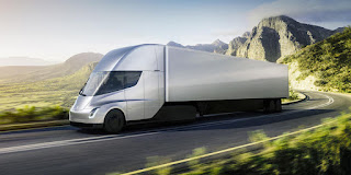 Tesla Semi (Credit: Tesla) Click to Enlarge.