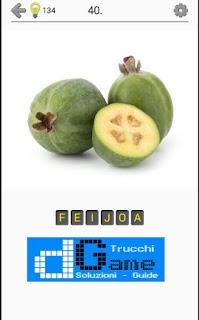Soluzioni Frutti, verdure e noce livello 40